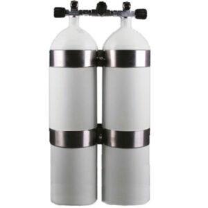 Dubbelset  8,5-liter concaaf