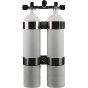 Dubbelset  8,5-liter concaaf / verbreed