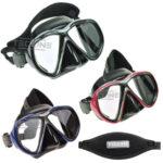 Tecline: Tiara masker met neopreen band