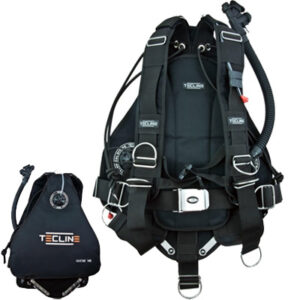 Tecline: Sidemount Side 16  systeem / 36 lbs
