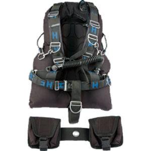 Halcyon: Contour sidemount system / 40 lbs