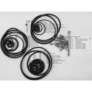 Divesoft: CCR Liberty O-ringen en schroeven