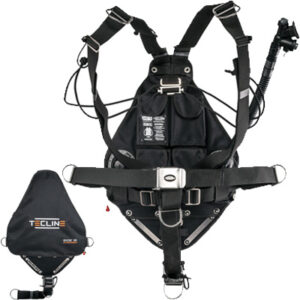 Tecline: Sidemount Side 16 systeem Avenger / 36 lbs