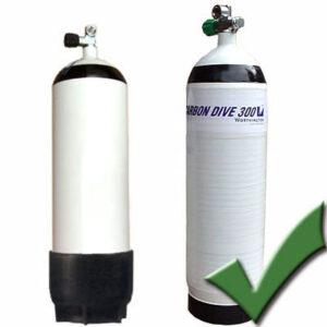 Hydrostatische keuring cilinders