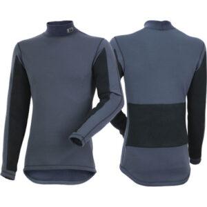 Kwark: Navy tech  shirt / lange mouwen