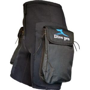 DivePro: Neopreen tech shorts met zakken