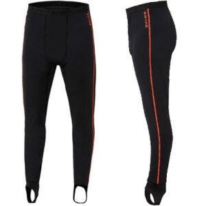 Bare: Ultrawarmth Base Layer Legging Black/Lava Man