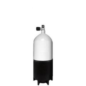 Mono cilinder staal / 12 liter-kort