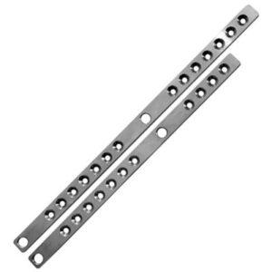 Bertec: Variabele gewicht systeem /  Roestvrij staal houder