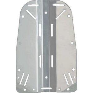 Halcyon: Backplate roestvrij staal / Standaard
