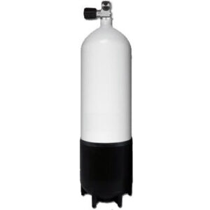 Mono cilinder staal / 10 liter