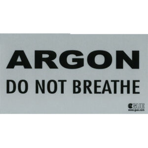 Halcyon: Argon identificatie sticker/ reflecterend