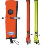 Halcyon: Signaleringsboei 1 m met OPV, No-Lock / Gesloten