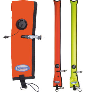 Halcyon: Signaling buoy 1 m with OPV, No-Lock / Closed
