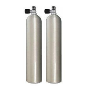 Mono cilinder aluminium / 40 cuft