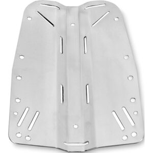 DTD: Backplate 3 mm / roestvrij staal