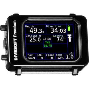 Divesoft: Freedom  Full Trimix Nitrox polscomputer