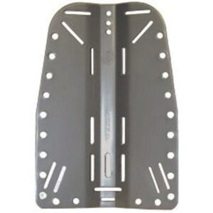 OMS: Backplate / roestvrij staal