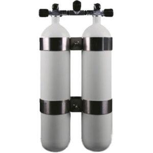 Dubbelset  8,5-liter / verbreed