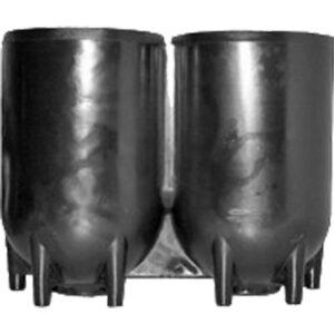 Cilindervoet / dubbelset