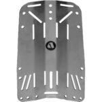 Apeks: WTX Backplate / roestvrij staal