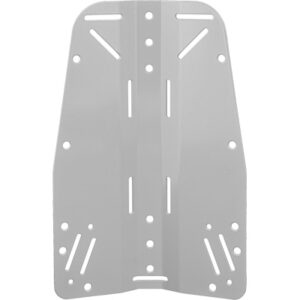 Tecline: Backplate 3 mm / roestvrij staal