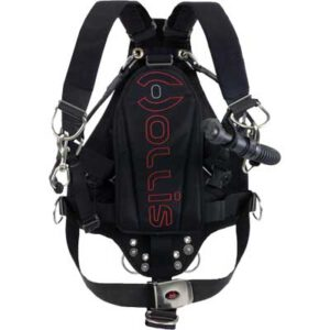 Hollis: SMS  50 travel sidemount systeem / 23 lbs