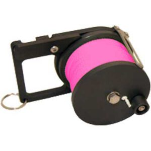 Custom Divers: Pocket Ratchet Reel / 50 m roze