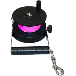 Custom Divers: Ratchet Reel /  70 m roze