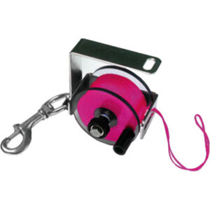 Custom Divers: Primary Reel / 125 m roze