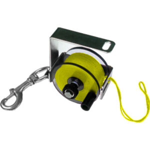Custom Divers: Primary Reel / 125 m neon geel