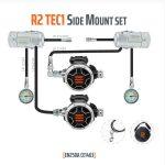 Tecline: Regulator R2 TEC1 Sidemount set