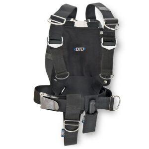 DTD: Verstelbaar harnas & backplate 3 mm / aluminium