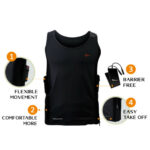 Thermalution: Yellow Grade 2.0 verwarmbaar vest