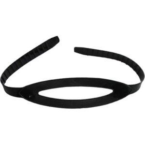 Maskerband siliconen / zwart