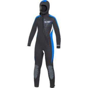 Bäre: Manta Hooded Full wetsuit 7/6 mm / Kids
