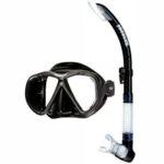 Problue: Snorkelset Tiara 2  / Zwart