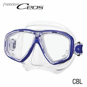 Tusa: Masker Freedom CEOS / helder siliconen