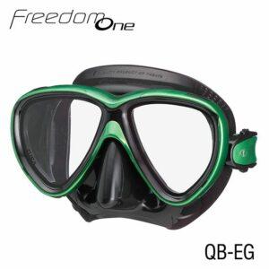 Tusa: Masker Freedom One / zwart siliconen