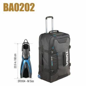 Tusa: Large Roller Bag