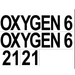 DTD: Sticker 2x (OXYGEN + 6 + 21)