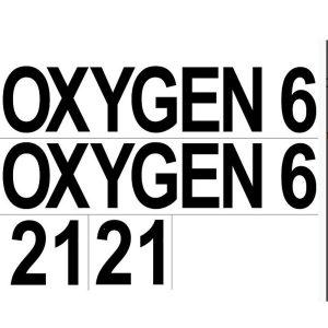 DTD: Sticker 2x (OXYGEN + 6 + 21)