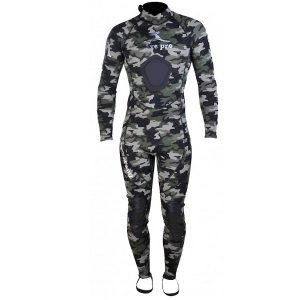 Divepro: F1 Wetsuit full 2 mm camo