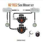 Tecline: Regulator R2 TEC2 Sidemount set