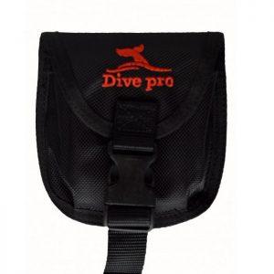 Divepro: Loodpocket trim gewicht