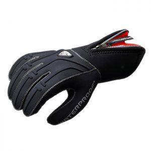 Waterproof: G1 5 vingers 5 mm handschoen