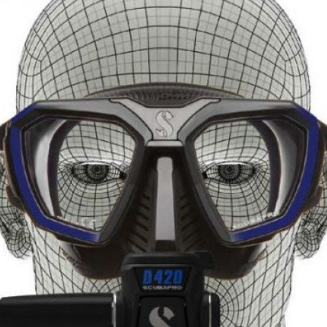 scubapro d-mask bz 2