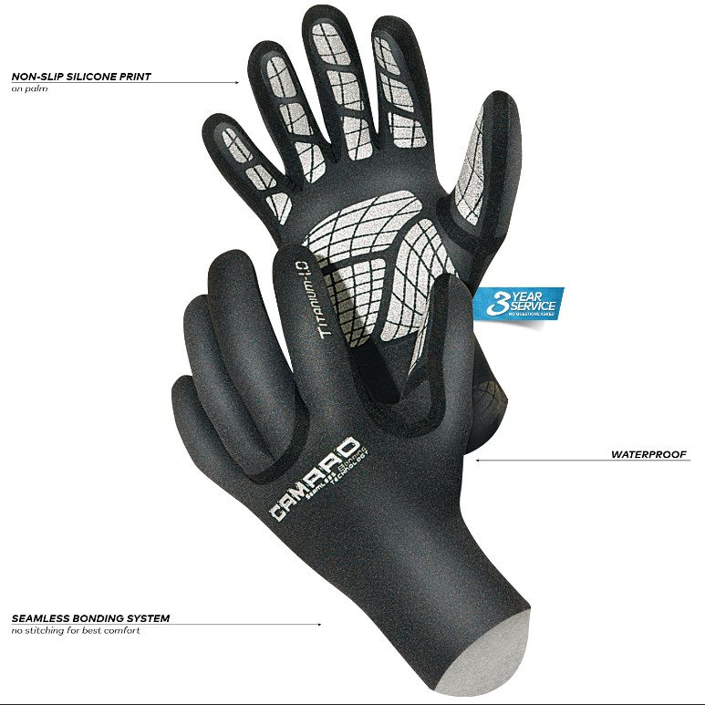 camaro titanium gloves 3mm 02