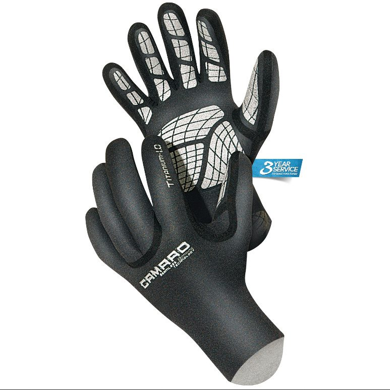 camaro titanium gloves 3mm