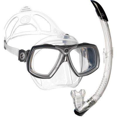 aqualung-look-2-snorkelset-zwart